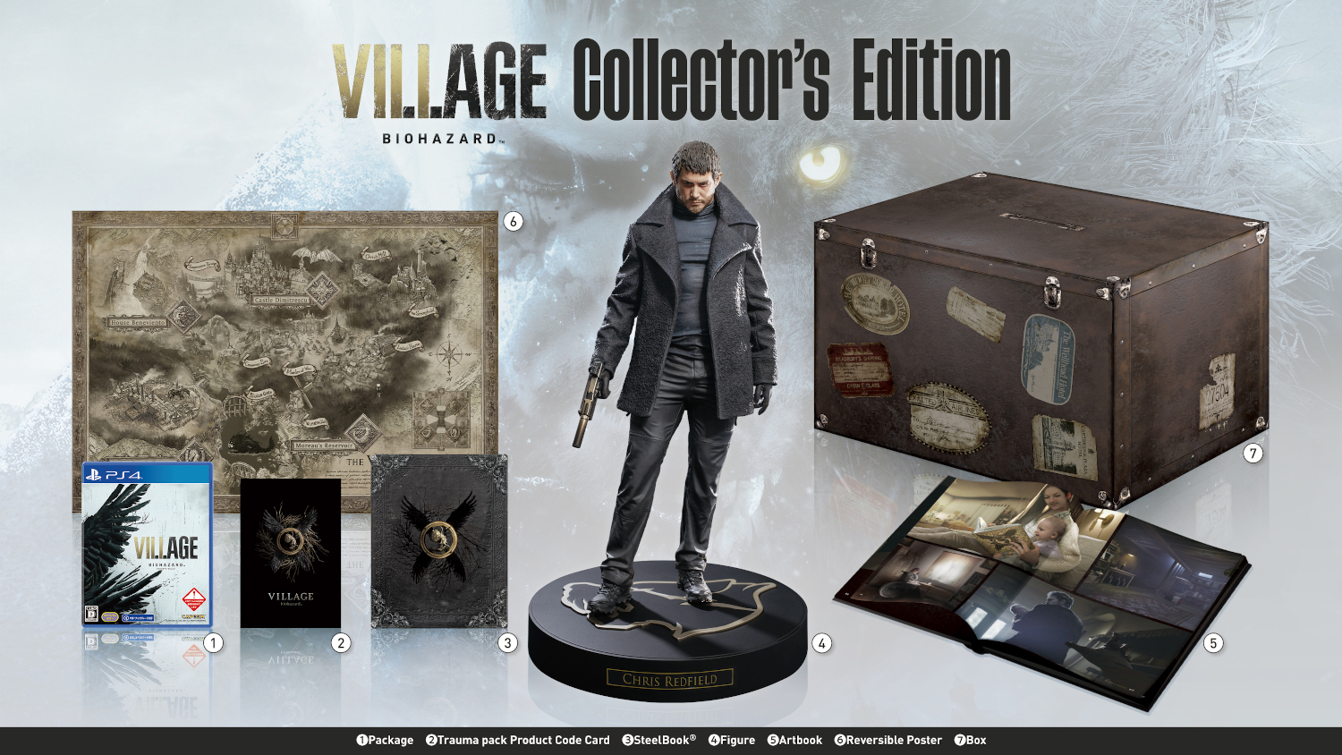 PS4 BIOHAZARD VILLAGE COLLECTOR'S EDITION PS4版