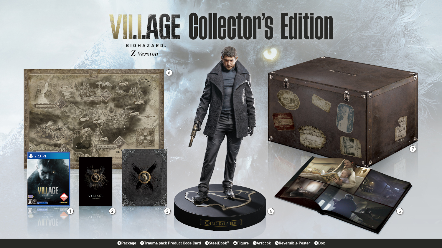 PS4 BIOHAZARD VILLAGE Z Version COLLECTOR'S EDITION PS4版