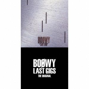 BOOWY LAST GIGS -THE ORIGINAL- (完全限定盤スペシャルボックス)