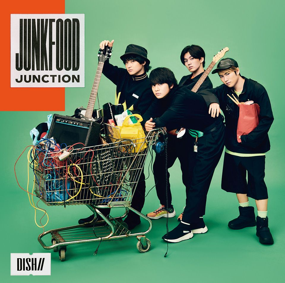 DISH// Junkfood Junction (初回限定盤A CD+DVD)