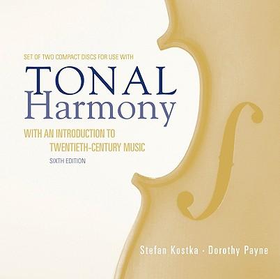 Audio Cdtonal Harmony Stefan Kostka 9780073327136