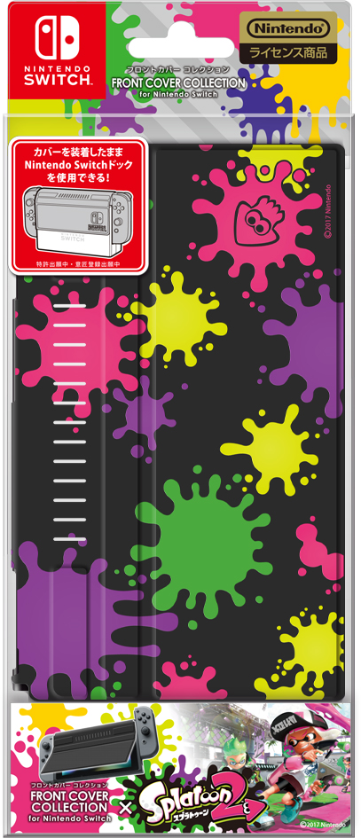 FRONTCOVERCOLLECTIONforNintendoSwitch(Splatoon2Type-A)