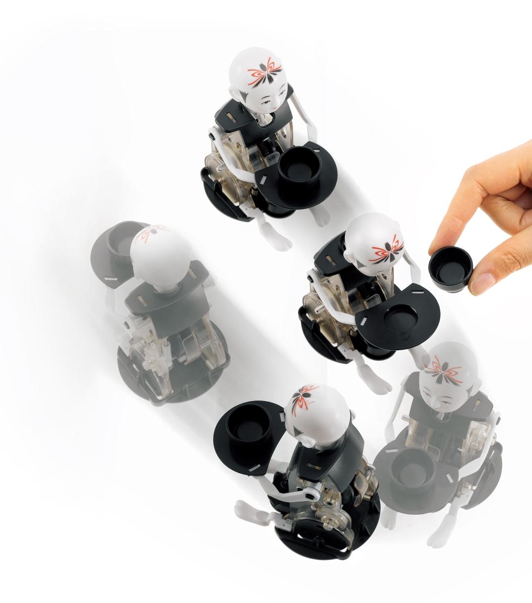 からくりロボット ミニ茶運び人形