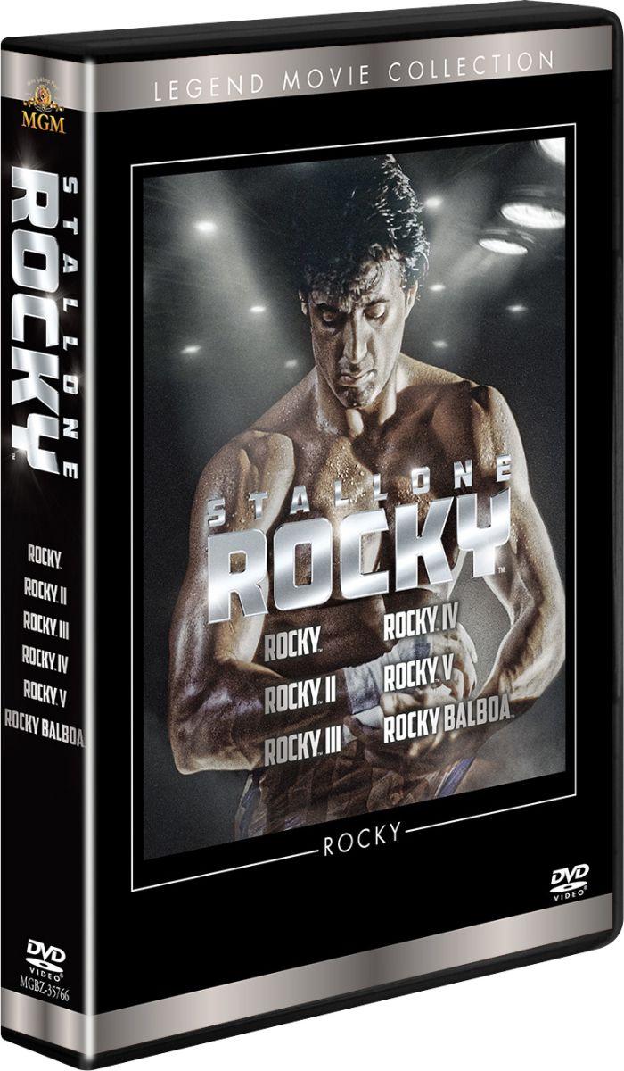 ロッキー DVDコレクションバート・ヤング