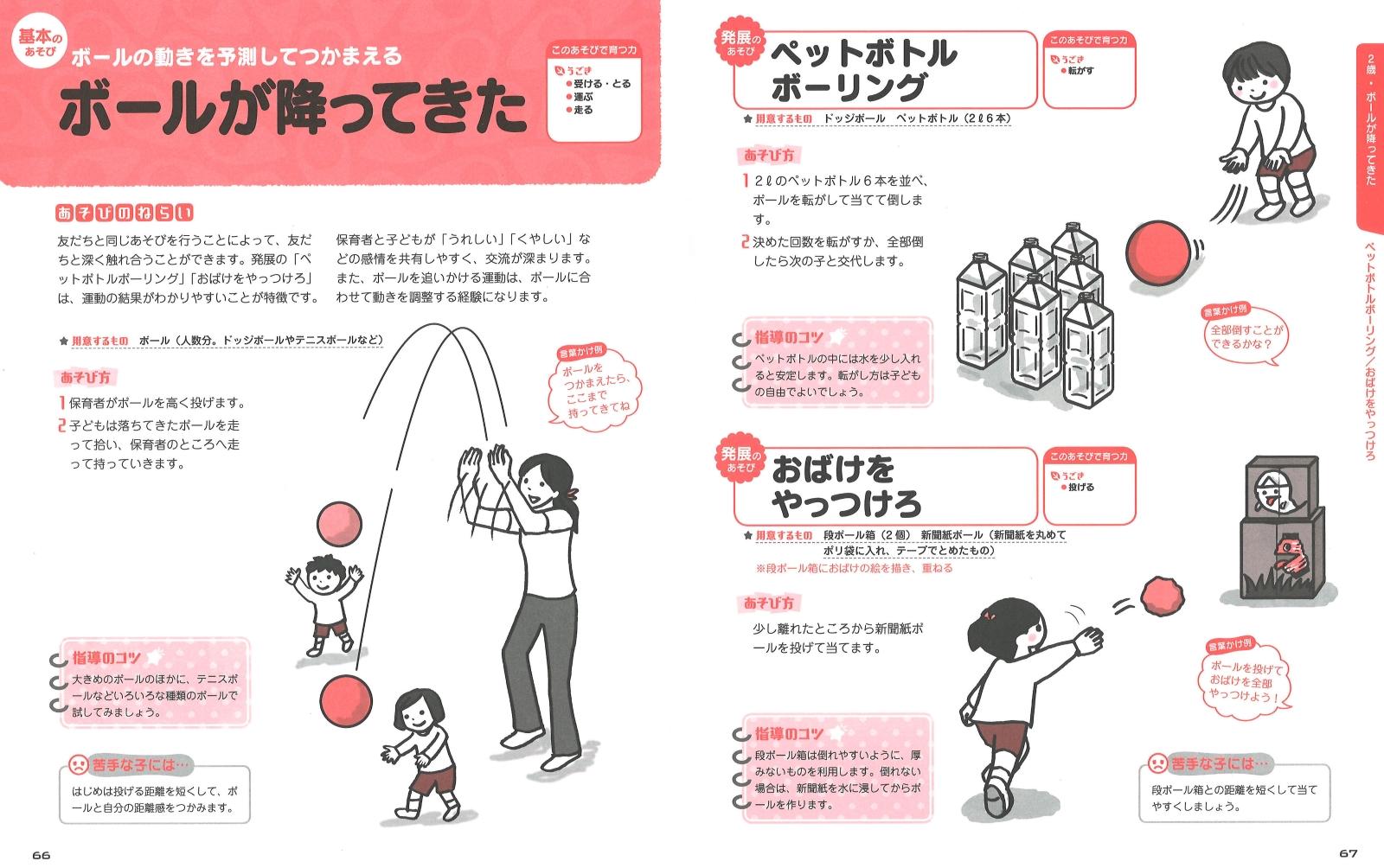 遊び 運動 2 歳児