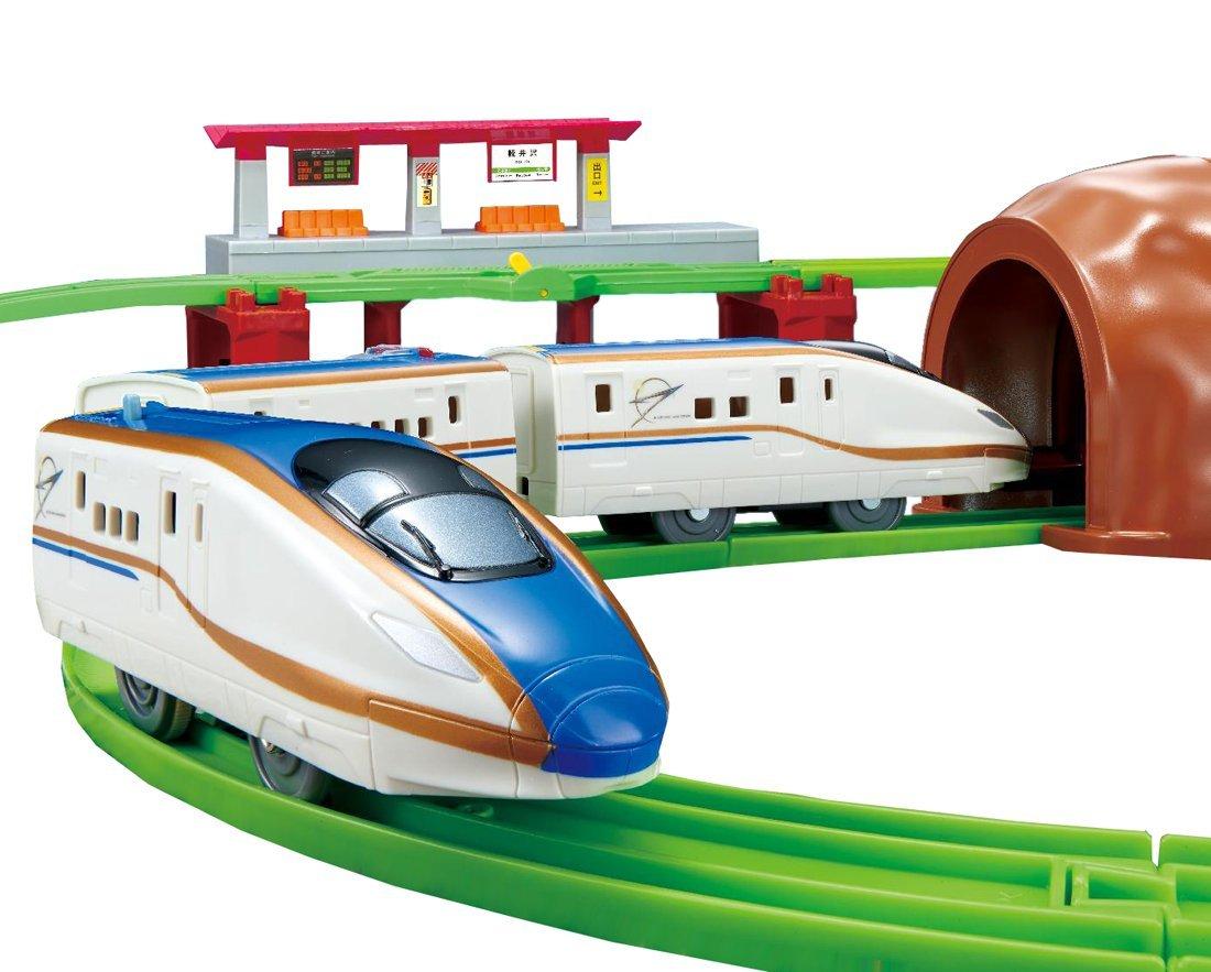 楽天ブックス: プラレール にぎやかアナウンス!サウンドe7系新幹線