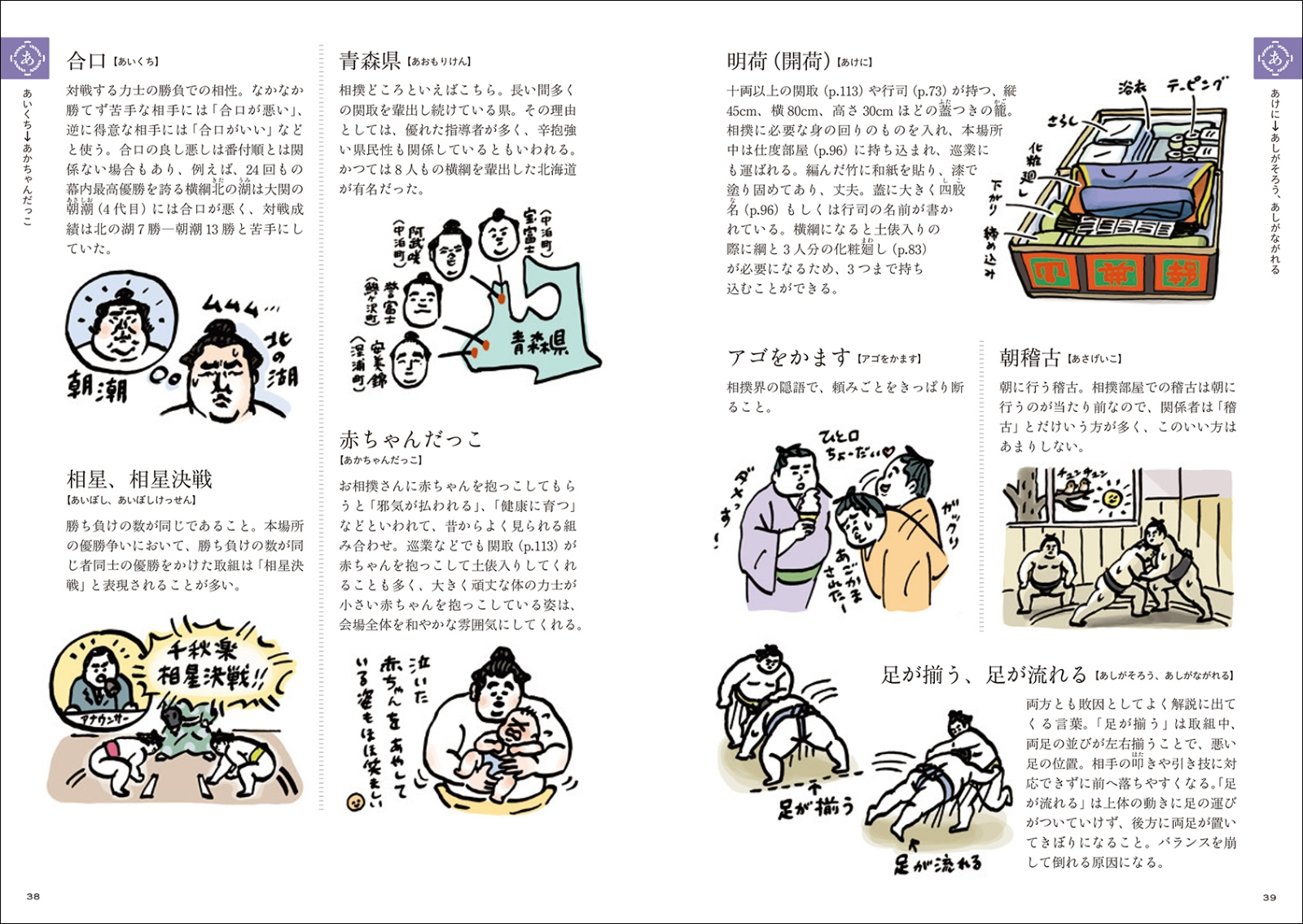 楽天ブックス 大相撲語辞典 相撲にまつわる言葉をイラストと豆知識で
