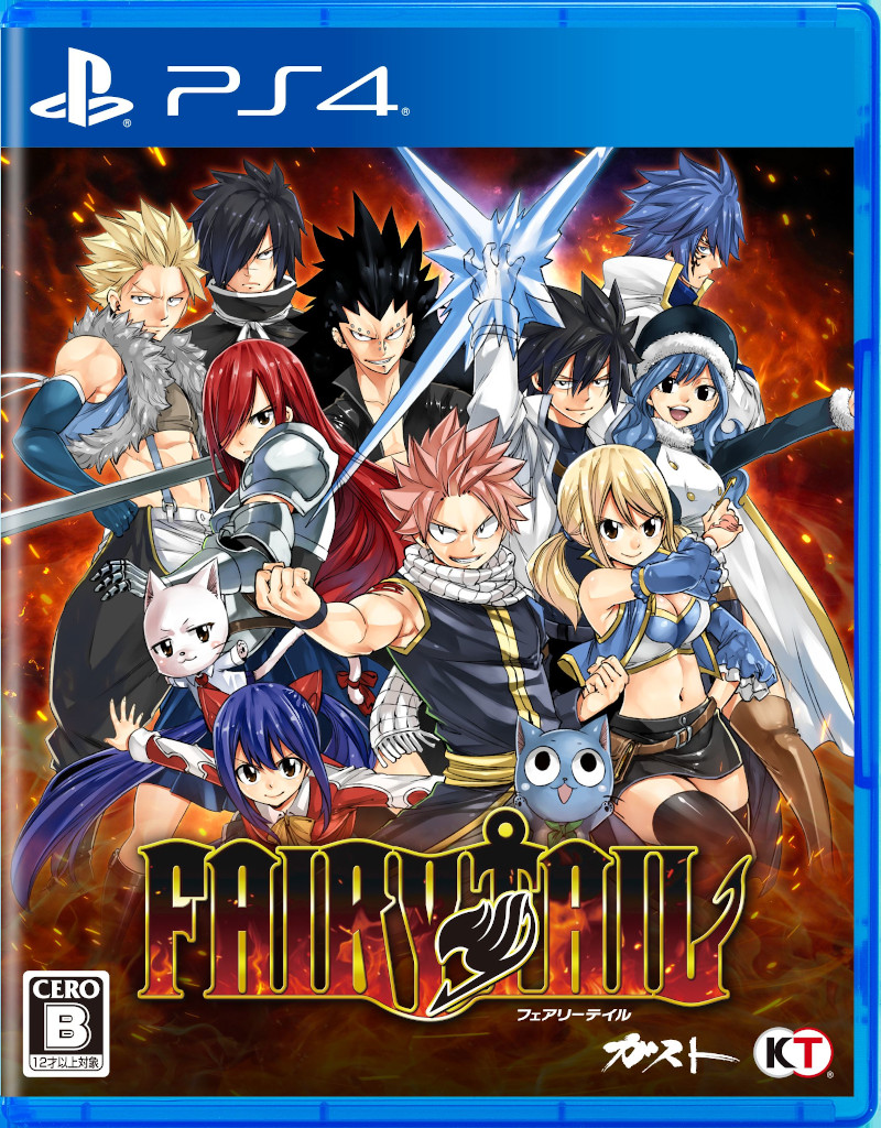 PS4 FAIRY TAIL PS4版