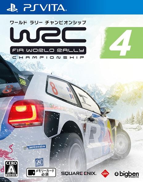 WRC 4 FIA ワールドラリー チャンピオンシップ PS Vita版
