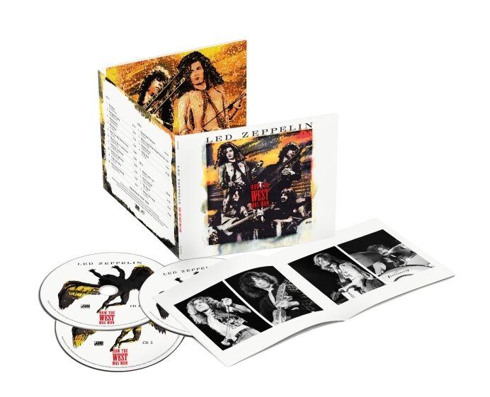 【返品種別A】 【送料無料】 THE WEST WAS WON [CD+DVD] (完全生産限定盤) [枚数限定] [限定盤] / レッド・ツェッペリン 伝説のライヴ―HOW