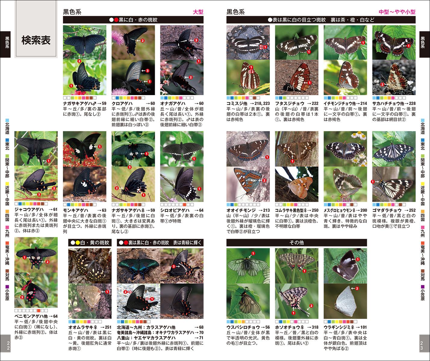楽天ブックス: 増補改訂版 日本のチョウ - 日本産全種がフィールド写真 ...