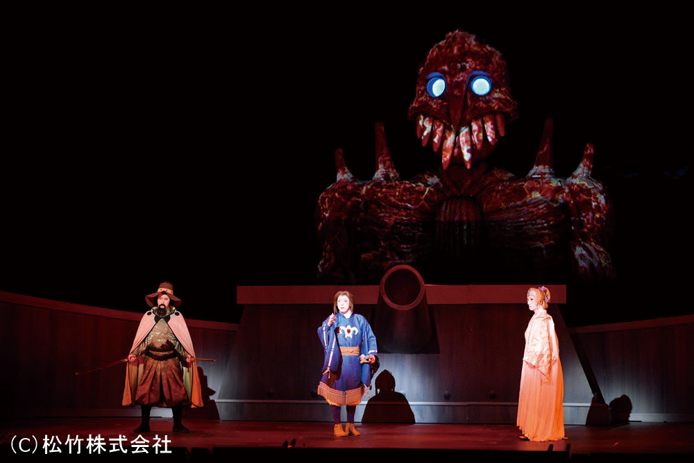 新作 歌舞 伎 風 の 谷 の ナウシカ