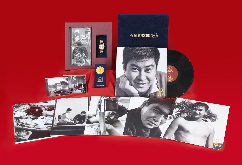 石原裕次郎 60 (完全予約受注生産盤 DVD+5アナログ盤+3CD+腕時計)【男性用】石原裕次郎
