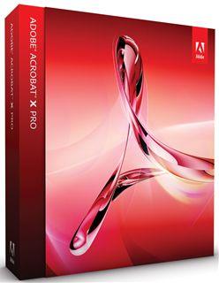 Adobe Acrobat X Professional 日本語版 Windows版