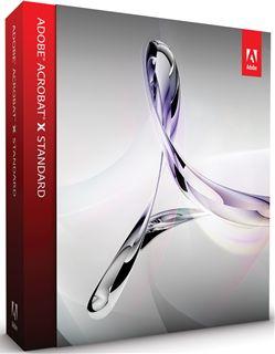 Adobe Acrobat X Standard 日本語版 Windows版