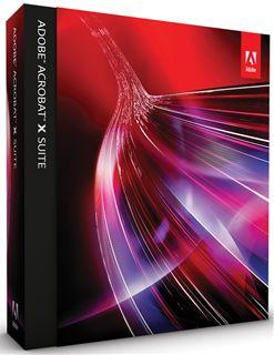 Adobe Acrobat X Suite 日本語版 Windows版