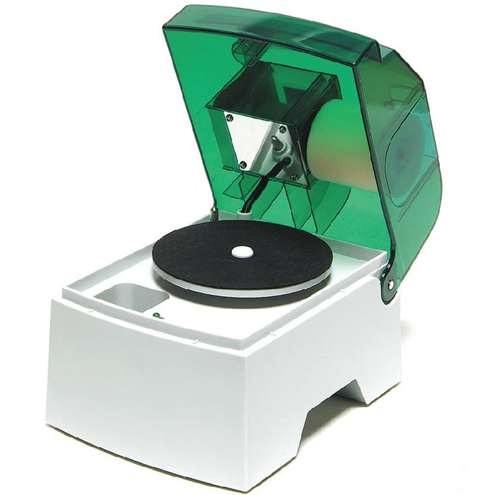 (7348-4100)ディスククリーニングワイパー 本体 入数:1台 ディスクの汚れ取り 保護 洗浄