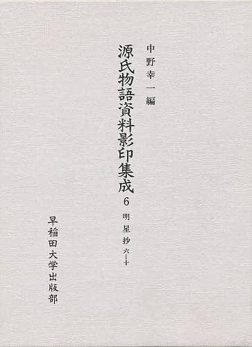 源氏物語資料影印集成 6/中野浩一/〔三条西実枝【1000円以上送料無料】