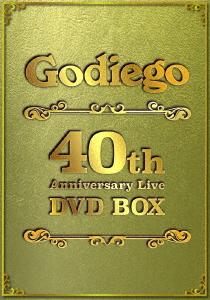 Godiego 40th Anniversary Live DVD-BOX/ゴダイゴ【1000円以上送料無料】