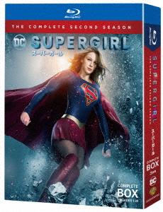SUPERGIRL/スーパーガール<セカンド・シーズン>コンプリート・ボックス(Blu-ray Disc)/メリッサ・ブノワ【1000円以上送料無料】