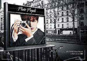 JAEJOONG Photo People in Paris vol.01/ジェジュン【1000円以上送料無料】