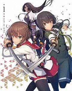 刀使ノ巫女 第1巻(Blu-ray Disc)/刀使ノ巫女【1000円以上送料無料】