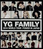 中古 YG FAMILY WORLD TOUR 2014-POWER-in Japan afb 男女兼用 WINNE Disc トゥエニィワン オムニバス 本日の目玉 Blu-ray