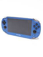 【中古】 【箱説なし】PlayStationVita Wi-Fiモデル:サファイア・ブルー(PCH1000ZA04) /本体(携帯ゲーム機) 【中古】afb