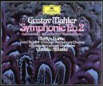 中古 マーラー:交響曲第2番 復活 安い アバド 有名な afb