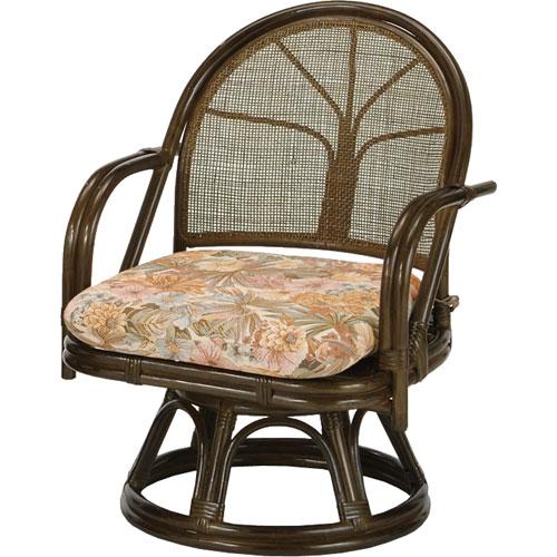 送料無料 籐回転座椅子 ミドル s303b 籐家具 籐 ラタン家具 ラタン 椅子 イス いす チェアー チェア 籐の椅子 座椅子 回転式座椅子 籐回転椅子 回転 回転式椅子 回転チェア 回転いす 回転イス ラタンチェア パーソナルチェア アームチェア 肘掛け椅子 回転高座椅子