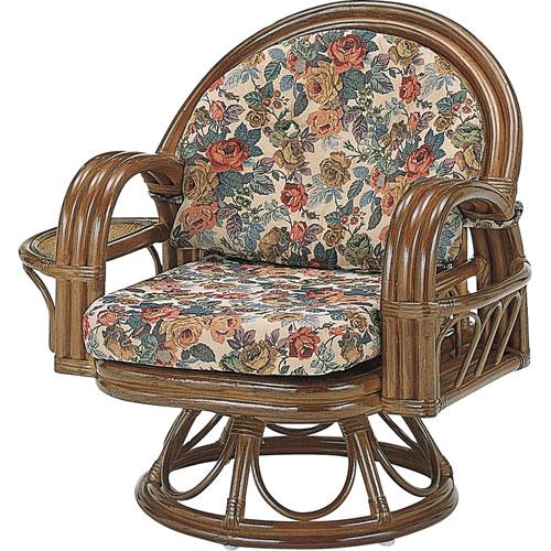 送料無料 籐回転座椅子 ミドル s333b 籐家具 籐 ラタン家具 ラタン 椅子 イス いす チェアー チェア 籐の椅子 座椅子 回転式座椅子 籐回転椅子 回転 回転式椅子 回転チェア 回転いす 回転イス ラタンチェア パーソナルチェア アームチェア 肘掛け椅子 回転高座椅子 一人用