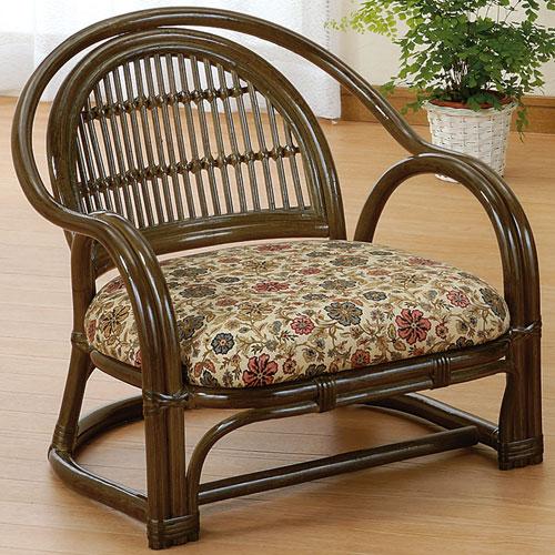 送料無料 籐アームチェア ロー s885b 籐家具 籐 ラタン家具 ラタン 椅子 チェア チェアー 一人掛け 1人 一人がけチェア 1人掛けチェア 一人がけ椅子 藤の椅子 一人椅子 一人掛け椅子 籐椅子 ラタンチェア 肘付き 木製椅子 木製チェアローチェア ロータイプ 低い