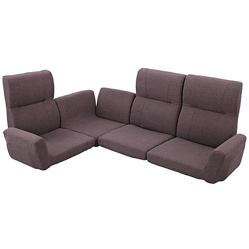 完成品 ソファセット リクライニング コーナーソファ 4点セット 幅180cm 布張 ブラウン ソファ ソファー 三人掛けソファ 三人掛けソファー 3人掛けソファ 三人掛け 3人掛け 3人用 3P 椅子 イス いす チェア チェアー ソファチェア リビング インテリア sofa lss-11br