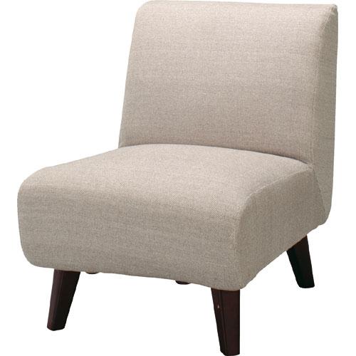 完成品 一人掛け ソファー 北欧 ファブリック ローソファ 1人掛けソファ 幅53cm 布張 ローソファ可能 ネオトマソン ベージュ ローソファー ロータイプソファ 高さ調整 1人掛け 1人掛けソファー 1p 1pソファ 1pソファー シンプル 布地 布 チェア 椅子 いす ss-94be