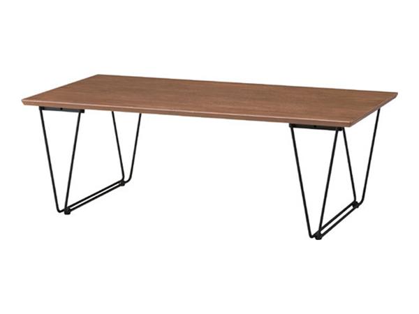 リビングテーブル アーロン 幅110cm センターテーブル テーブル テーブルセンター ローテーブル リビングテーブル リビング ロー コーヒーテーブル スチール脚 木製