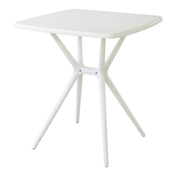 プラスチックガーデンテーブル ホワイト