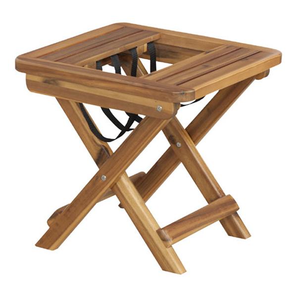 サイドテーブル兼用折りたたみマガジンラック 2個組 バレル