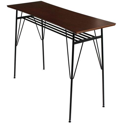 送料無料 カウンターテーブル セフィア 幅120cm ブラウン 200ct-br