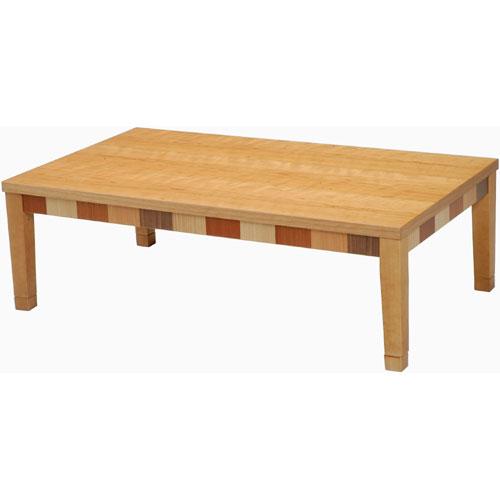 日本製 天然木こたつ CASA-C 幅120cm チェリー こたつ コタツ こたつテーブル こたつ本体 炬燵 木製 ko16-11