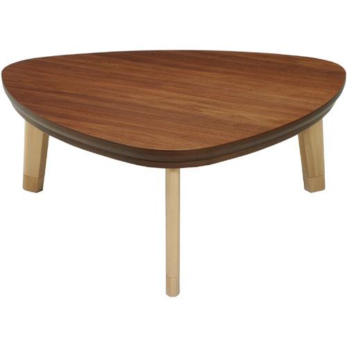 日本製 天然木こたつ トリノ 三角形 幅104cm こたつ コタツ こたつテーブル こたつ本体 炬燵 木製 ko16-23