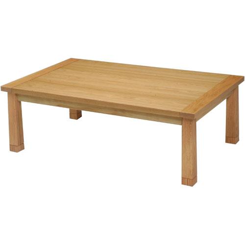 日本製 天然木こたつ KENT 幅120cm ナチュラル こたつ コタツ こたつテーブル こたつ本体 炬燵 木製 ko16-28