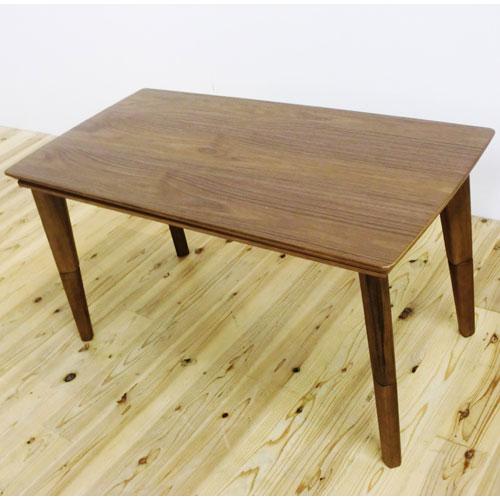 高さ2段階調節ハイ&ローこたつ 諏訪 幅120cm ブラウン こたつ コタツ こたつテーブル こたつ本体 炬燵 木製 r-eto-sw120-br