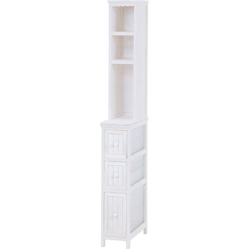 幅20cm高さ160cm木製スリムカントリー調チェストシェルフ 幅20cm高さ160cm, RAY ONLINE STORE:3c2fb6af --- officewill.xsrv.jp