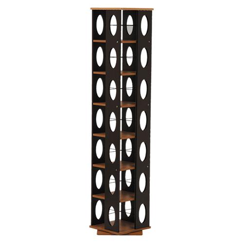 送料無料 回転式タワー本棚 幅34cm高さ167cm 送料無料 ブラウン×ダーク MUD-7181BR MUD-7181BR★★ hg-mud-7181br hg-mud-7181br, 新居町:10881c17 --- officewill.xsrv.jp