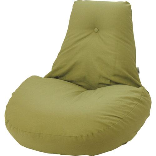 ふわふわリクライニング座椅子 凛 オリーブグリーン