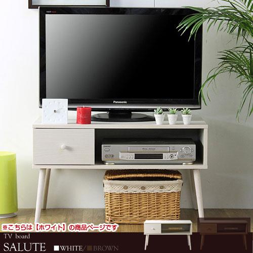 北欧デザイン高脚テレビ台 幅80cm ホワイト サルーテ サルーテ 幅80cm ホワイト, ものうりばPlantz:f93022cb --- officewill.xsrv.jp
