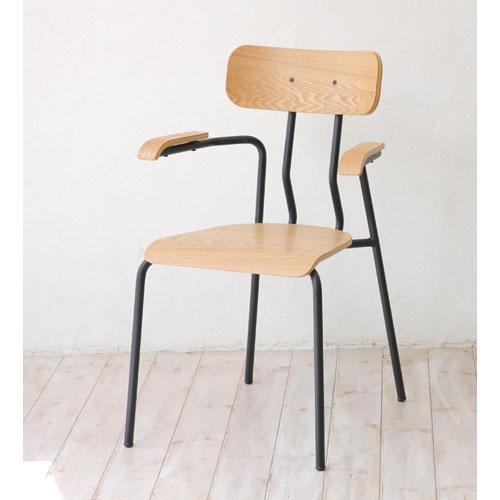 完成品 ダイニングチェア アーム付き クラッシェ ダイニングチェアー ダイニング キッチン イス いす 椅子 チェア チェアー 食卓椅子 キッチンチェア シンプルチェア 食卓 お洒落 オシャレ おしゃれチェア ゆったり シンプル椅子 シンプル パーソナルチェア tdc-9536