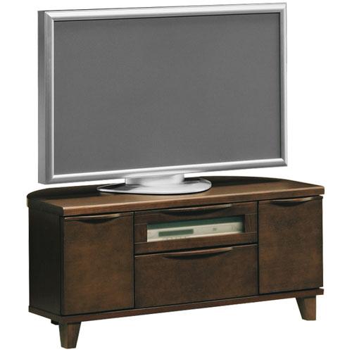 コーナーテレビ台 LX 幅105cm ダークブラウン lx-107-d