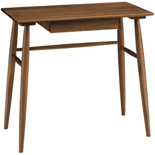 木製デスク オーク ブラウン 幅80cm oak8511
