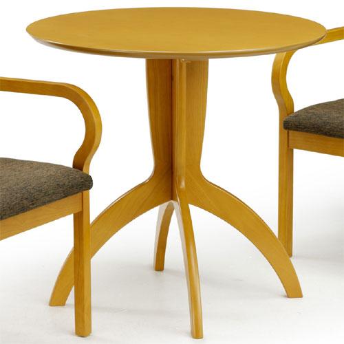 丸テーブル レスト 幅75cm ナチュラル rest752-cn
